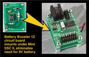Battery Booster 12 Circuit Board